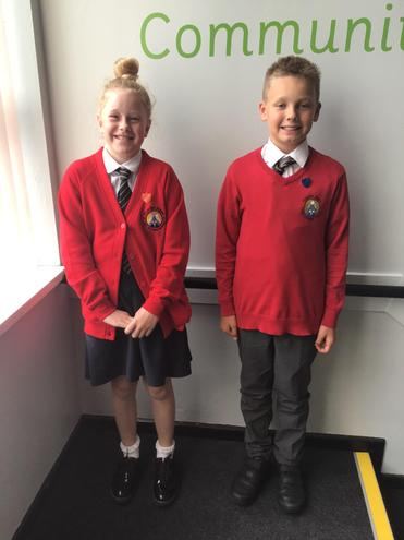 Congratulations to our new Head Boy and Girl!