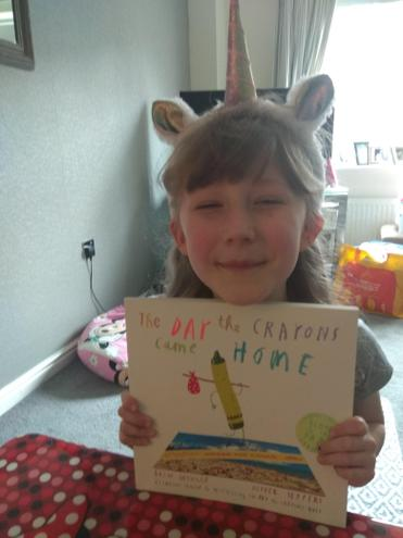 One of Evie's favourite books.