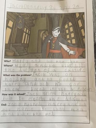 Jacob D's super story.