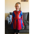 Dressing up for Super Hero Day