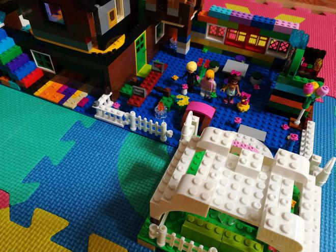 Sophie has been busy with her Lego!