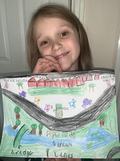 Amelia's amazing map! 🗺