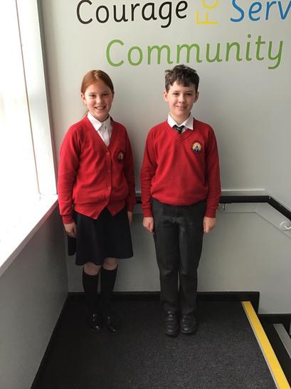 Our school council representatives 🌟