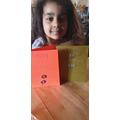 Homemade birthday cards.