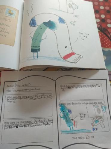 Evie's book review.