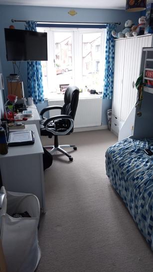 Elliot's tidy room!