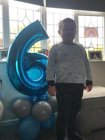 Jacob is 6!! 🎈