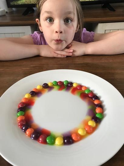 A yummy rainbow! 🌈