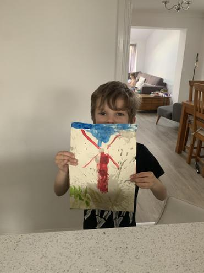 Luke was inspired by Peter Thorpe.