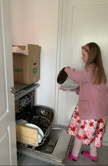 Dishwasher duties