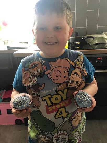 Jacob's yummy cakes!