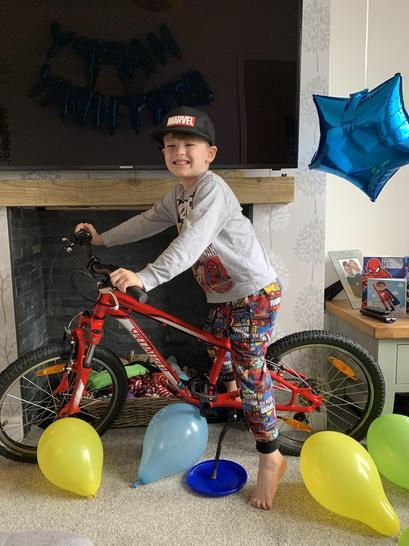 Jacob is 6!! 🚲