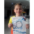 Well done Harrison on you Sliver award