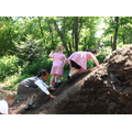 Climbing the mound