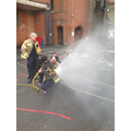 We learnt how to use the hose