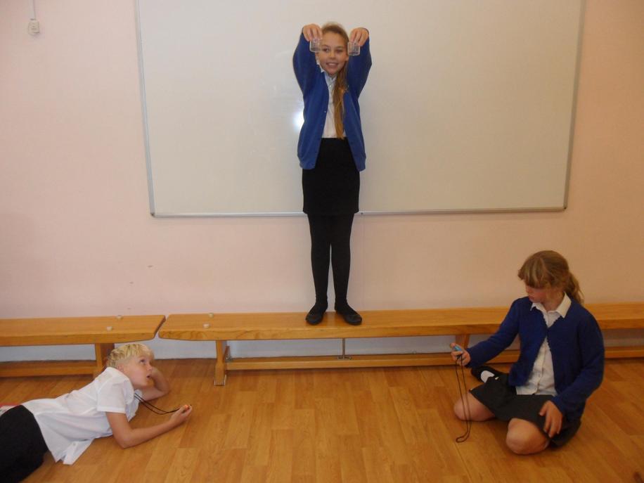 Testing Aristotle and Galileo's theories