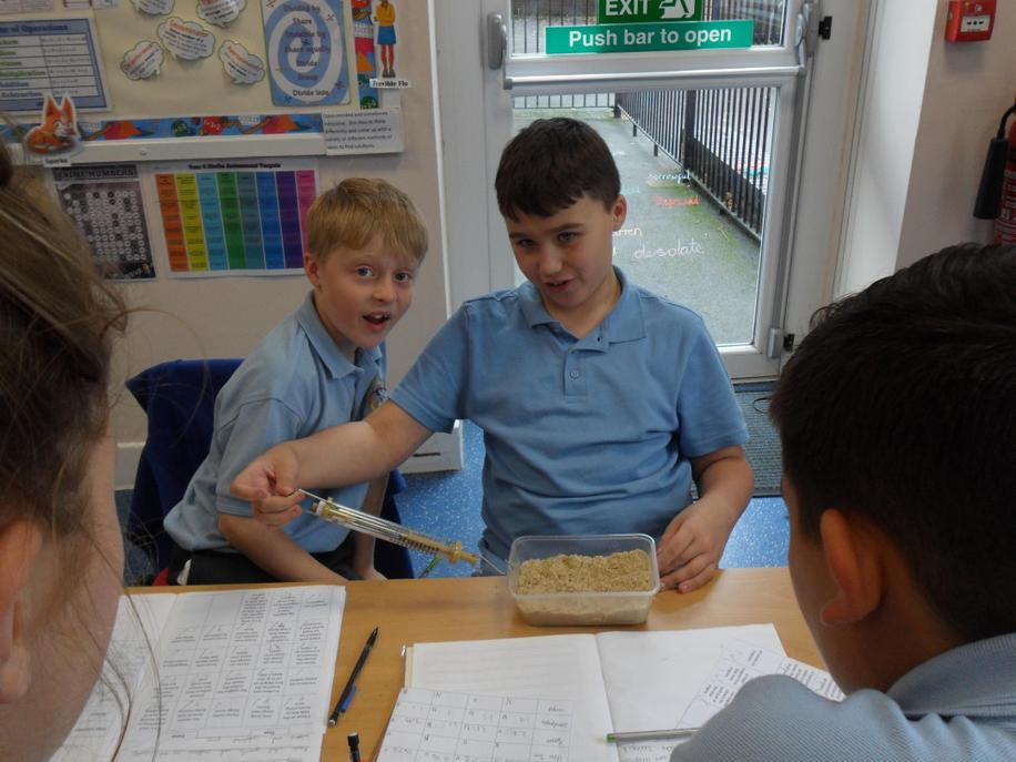 exploring friction on different materiasl
