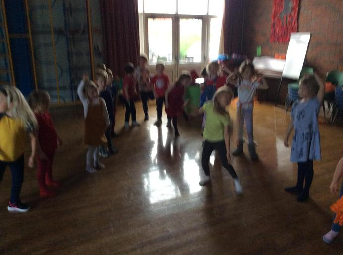 Tribal dancing with Infant 2