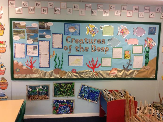 Summer 1 Topic 'Creatures of the Deep'