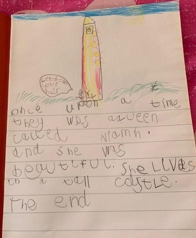What fantastic writing Niamh. I love you picture especially the castle and Queen Niamh's long hair. Well done, Keep it up!!!