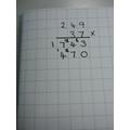 3 x 4 add on 2 = 14