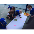 Leaf printing with Year 2