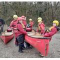 Monday - Canoeing