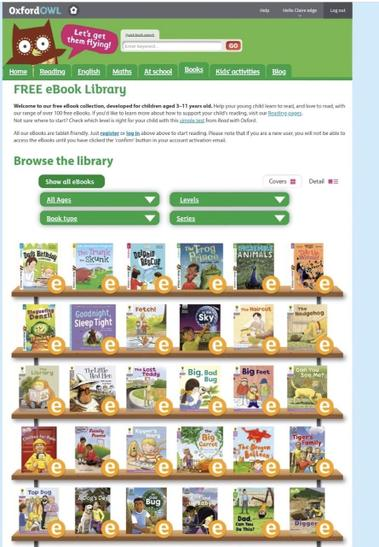 Lots of free reading scheme books to enjoy!