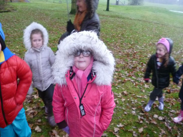 Keeping warm and snug was very important!