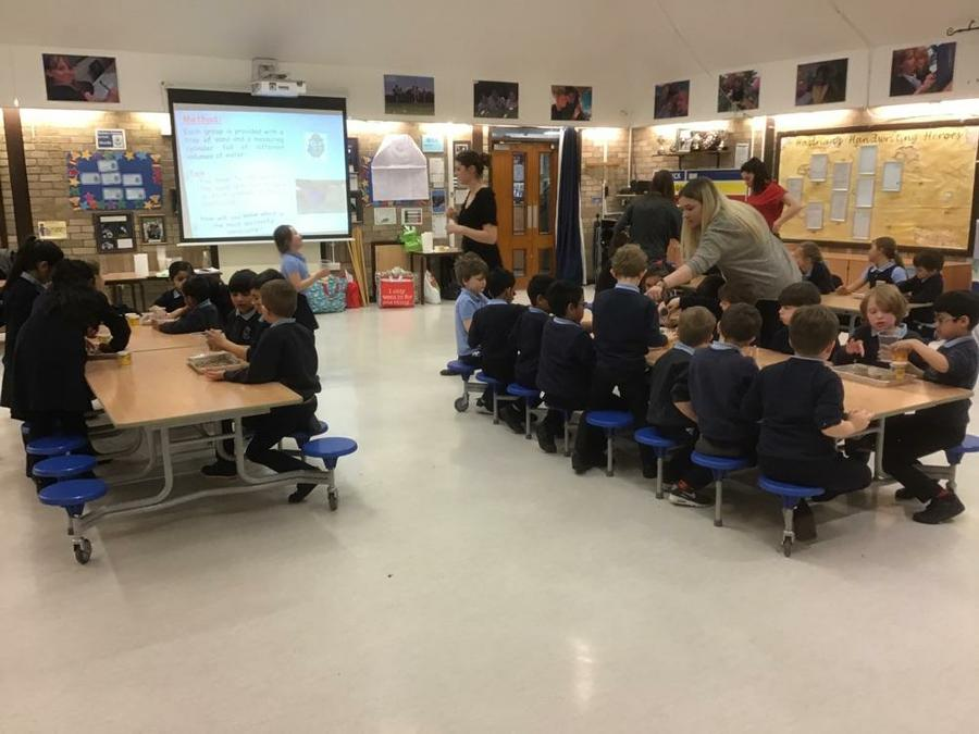 Science Workshop Investigating Materials
