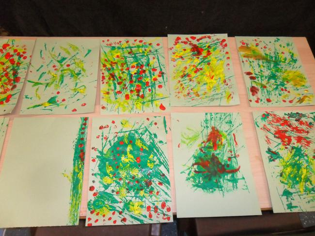Poppy pictures inspired by Claude Monet !
