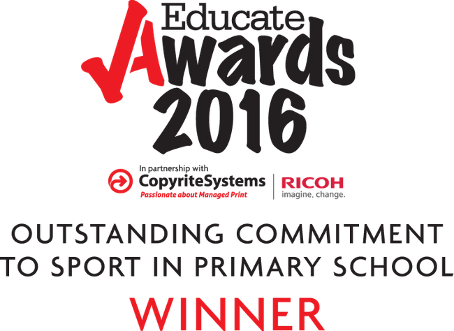 2016: OUTSTANDING COMMITMENT TO SPORT IN A PRIMARY SCHOOL