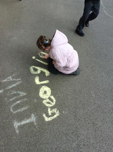 We love chalk!
