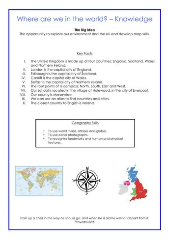 Knowledge - Geography Example