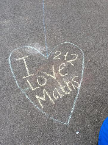 Mrs Davidson loves Maths!