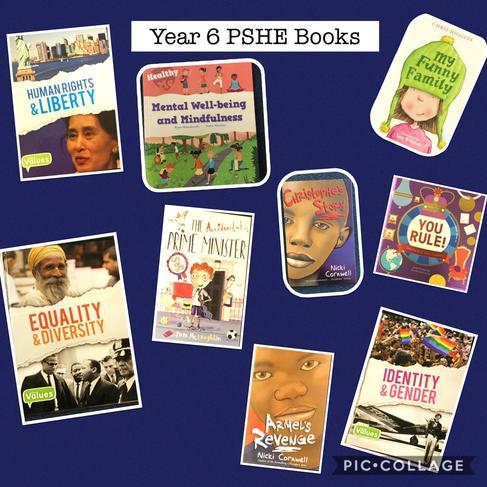 Example of PSHE books