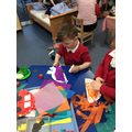 Using different materials to create cars