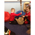 Acting out the story Room on the Broom