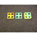 Using Numicon to add 1 more to a number