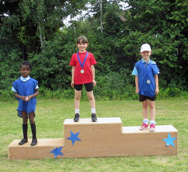 Year 1 Girls Winners