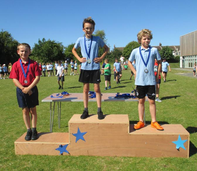 Year 4 Boys Long Race Winners