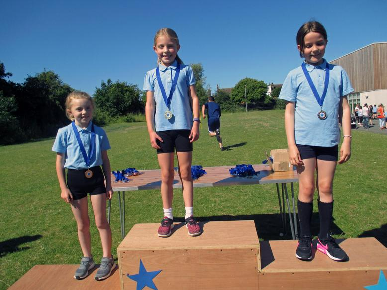 Year 3 Girls Long Race Winners
