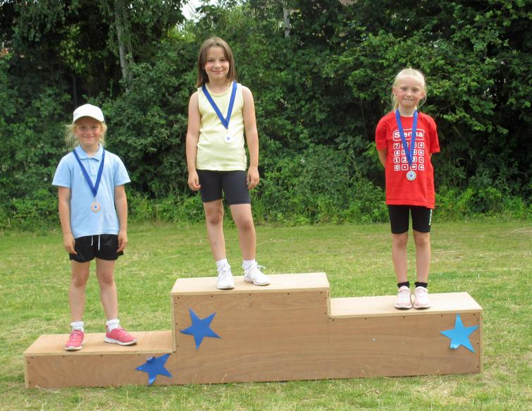 Year 2 Girls Winners