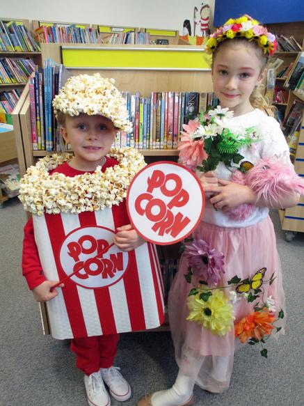 Reception and Year 3 winners