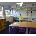 In her old year one classroom