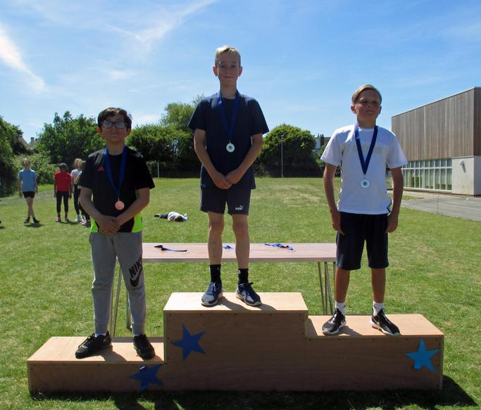 Year 6 Boys Long Race Winners