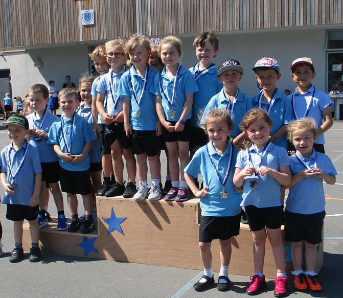 Reception Medal Winners
