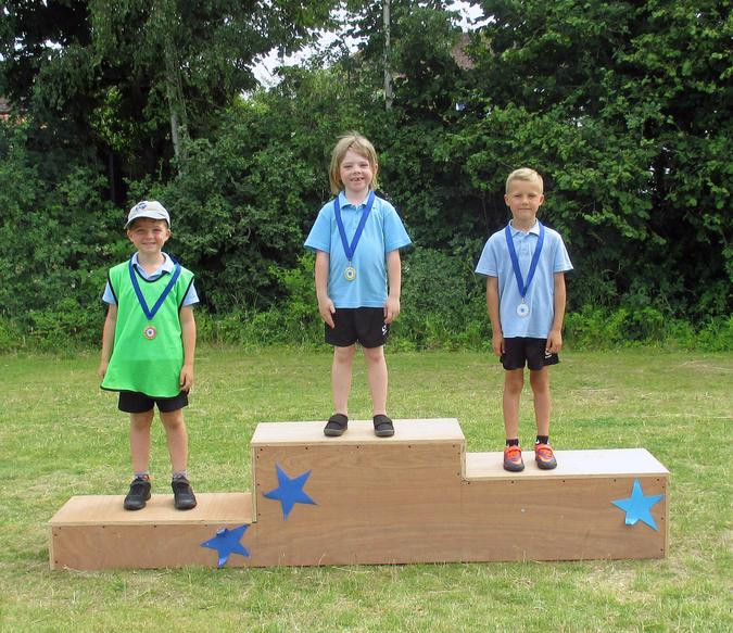 Year 1 Boys Winners