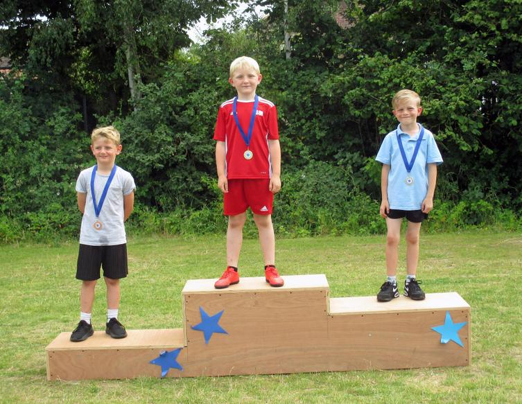 Year 2 Boys Winners