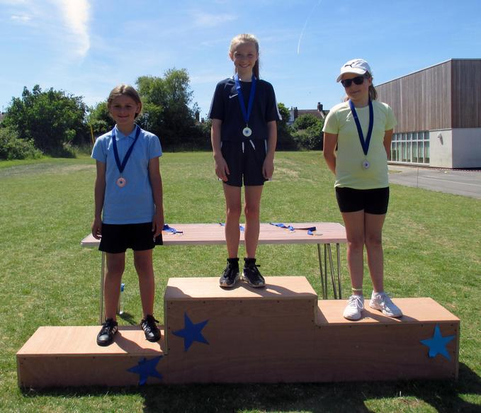 Year 6 Girls Short Race Winners